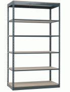 Buy cheap Series 2 Rivet System Boltless Shelving Units (200 - 325lb/shelf) from wholesalers