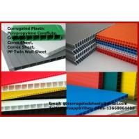 Buy cheap PP Corrugated Plastic Board from wholesalers