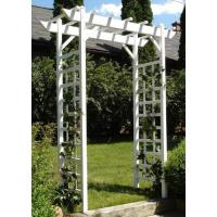 Buy cheap Dura-Trel 11178 Providence Arbor, White from wholesalers
