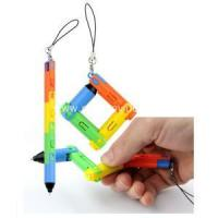 Buy cheap Plastic Ball Pen Flexible Colorful Ball Point Pen from wholesalers