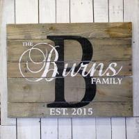 Wholesale Wooden Last Name Signs from china suppliers