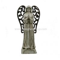 Buy cheap Decorative Praying Resin Christmas Angel Figurines from wholesalers