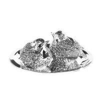 Wholesale Silver Plated Tableware Silver Plate Robin Salt & Pepper from china suppliers