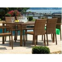 Buy cheap Panama Jack St Barths Wicker Dining Set 7 Piece from wholesalers