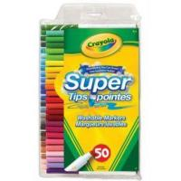Buy cheap Crayola Super Tips Markers 50 Colors from wholesalers