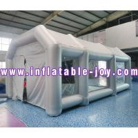 Buy cheap Inflatable Portable Car Spray Paint Booth Design With Filter from wholesalers