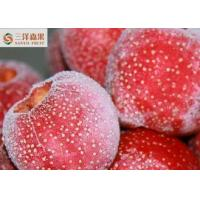 Buy cheap IQF Seedless Organic Frozen Fruit , Hawthorn Tree Fruit Dia 21 - 28mm from wholesalers