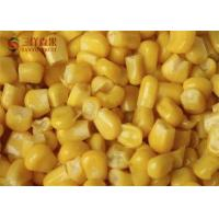 Buy cheap Safety Frozen Sweet Corn Kernels Organic Fruit With 8 - 13% Sweetness from wholesalers