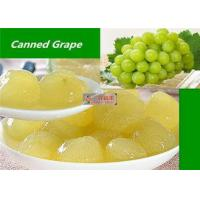 Buy cheap Healthy Canned Fruit Food Grape In Syrup / Natural Seedless Green Grapes from wholesalers