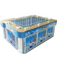 Blue fishing game machine cabinet Manufactures