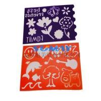 flower stencil template Manufactures