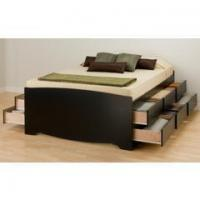 Wholesale Sienna Platform Bed | Caramelized from china suppliers