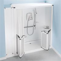 Buy cheap Swift Fit Free Standing Shower Cubicles Snowdon Blackdown Toilet Option G from wholesalers