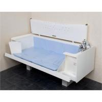 Rise and Fall Baths Neatfold Integrated Bath Stretcher Manufactures