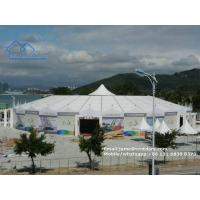 Buy cheap Large Free Standing Commercial Trading Frame Tents No Center Poles for Sale from wholesalers