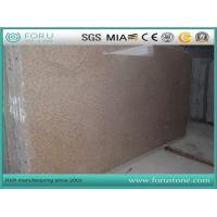 China Yellow Rusty Yellow G682 Granite Slabs for Kitchen Countertops on sale