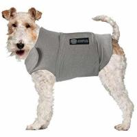 Buy cheap American Kennel Club Anti Anxiety and Stress Relief Calming Coat for Dogs, Medium, Grey from wholesalers
