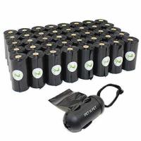 Buy cheap PET N PET 720 Counts Large Black Unscented Dog Pet Poop Waste Bags 40 Rolls with One Dispenser from wholesalers