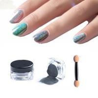 Wholesale Holographic Powder Holographic Nail Powder-3g from china suppliers