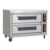 Buy cheap Commercial 2 deck 4 trays gas pizza oven from wholesalers