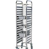 Buy cheap Stainless Steel Gn pans rack trolley from wholesalers