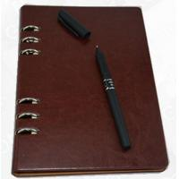 Buy cheap a5 leather ring binder diary from wholesalers