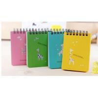 Buy cheap custom printed notebooks custom Shaped Spiral Notebook & Printing Notepad For Promotion from wholesalers