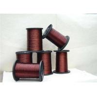 0.012 - 4.5mm Round Ultra Fine Magnet Wire , 24 Awg Copper Enameled Wire For Automation Manufactures