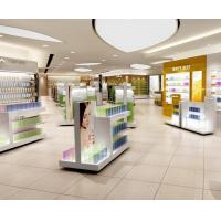 Buy cheap Retail Store Design Gondola Shelves for Cosmetic in Acrylic Wood and Glass from wholesalers