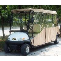 Buy cheap 6 Seater Electric Golf Cart Parts And Accessories / Deluxe Brown Golf Cart Enclosures from wholesalers