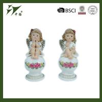 Wholesale best selling indoor Christmas decoration polyresin girl angel figurine from china suppliers