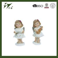 Buy cheap Custom polyresin baby angel figurines for home decor from wholesalers