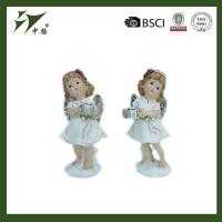 Buy cheap Ornaments Polyresin Angel Figurines For Christmas Decor from wholesalers