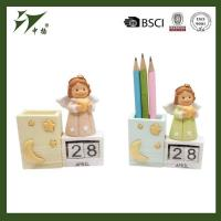 Buy cheap Resin little baby angels with pen holder from wholesalers