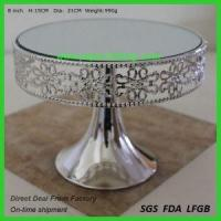 Buy cheap 10 Inch Size Silver Paper Cake Base Cake Board from wholesalers