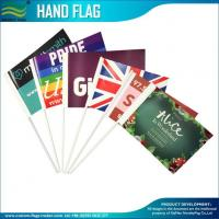 Wholesale 157gsm coated paper promotion hand waving Stick flags from china suppliers
