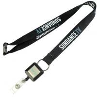 Buy cheap Personalised Custom Printing Lanyard with Badge Reel from wholesalers
