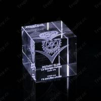 Wholesale Cube Crystal Trophy Award Item#: CCT-Cube-1201 from china suppliers
