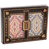 Buy cheap 100% Plastic KEM Paisley Marked Playing Cards 2 Decks Set For Poker Cheat from wholesalers