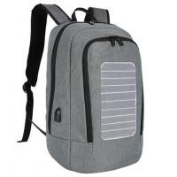 Buy cheap 17081709 Laptop backpack USB charger casual daypack solar computer bag from wholesalers