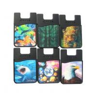 Buy cheap Adhesive Credit Card Holder Wallet for Cell Phone Back from wholesalers