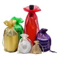 Buy cheap Eco-friendly cheap wine organza pouch from wholesalers