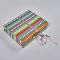 Custom printed handmade candy paper box packaging with magnetic Manufactures