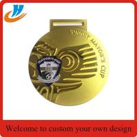 Buy cheap M003 Custom metal gold medals,zinc alloy die cast medals from wholesalers