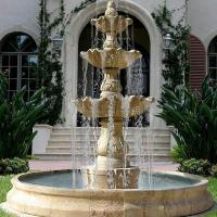 Buy cheap Outdoor Garden water Fountain marble and granite fountain from wholesalers
