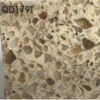 Buy cheap Wholesale Engineered Quartz Stone Slabs For Countertops/Vanity Tops/Wall Panels(QD179T) from wholesalers