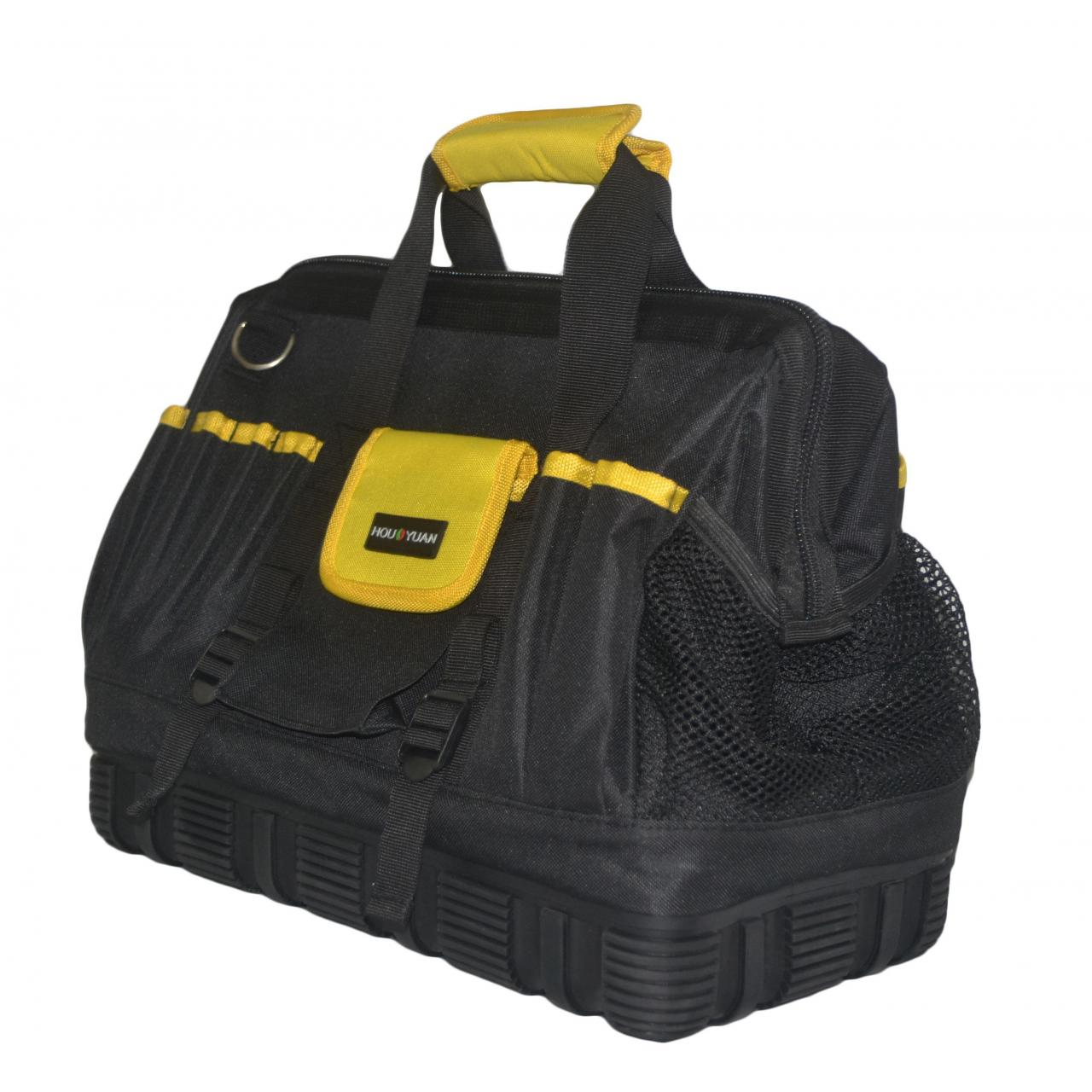 Wide Mouth Tool Bag with Rubber Base Manufactures