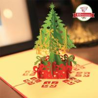 Wholesale 3D Christmas Tree Christmas Cards from china suppliers