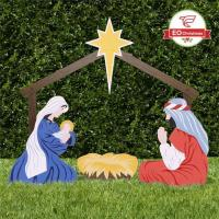 Holy Family Yard Scene Manufactures