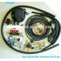 Buy cheap 4Cylinder LPG sequential Injection system kits from wholesalers